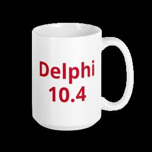 Delphi Warrior 10.4 Mug